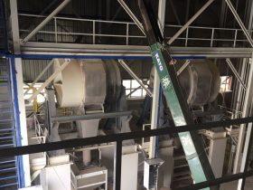 Construcción de maquinaria industrial - Molino vía seca