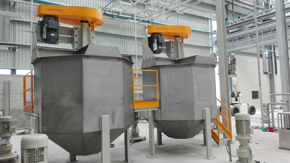 Construcción de maquinaria industrial - Desleidor