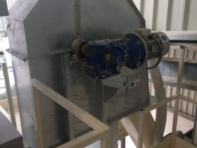 Construcción de maquinaria industrial - Elevador