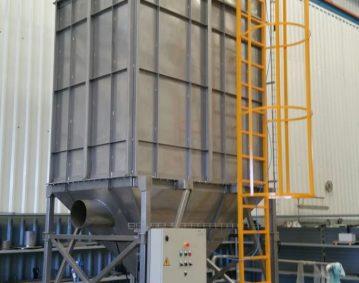 Construcción de maquinaria industrial - Filtros de aspiración