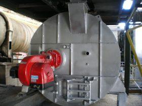 Construcción de maquinaria industrial - Secadero cámara de combustión