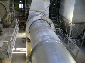 Construcción de maquinaria industrial - Secadero rotativo