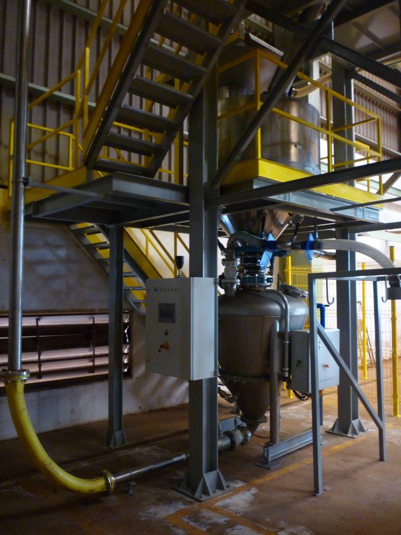 Construcción de maquinaria industrial - Propulsor 750 litros