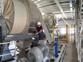 Mantenimiento de maquinaria Industrial